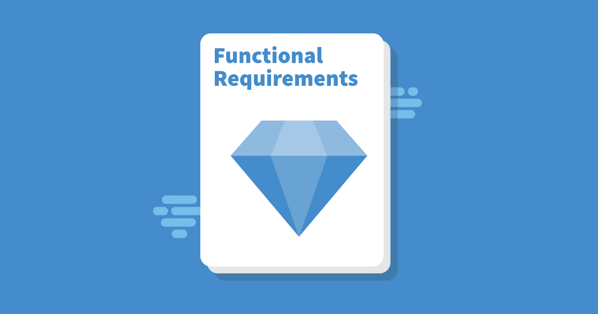 Functional requirements writing